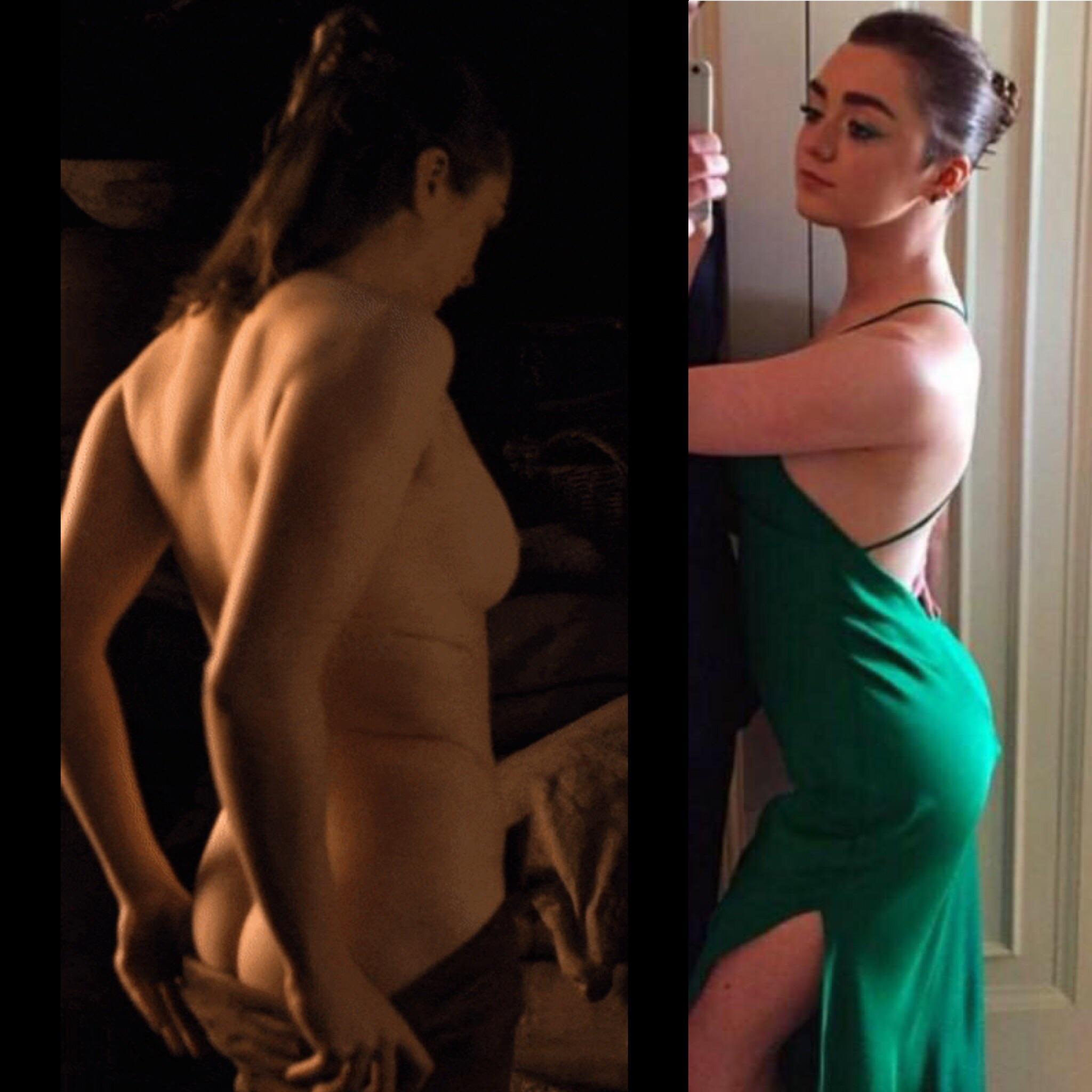 Maisie Williams nue